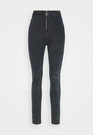 RING ZIP OUTLAW JEGGING - Jeans Skinny Fit - grey