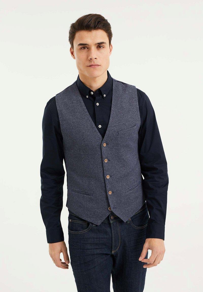 WE Fashion - Gilet - dark blue