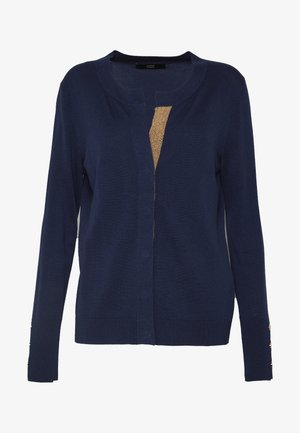 CLAIRE GLAM CARDIGAN - Vest - navy
