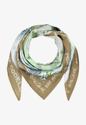 LOVE YOUR PLANE - Foulard - oliv