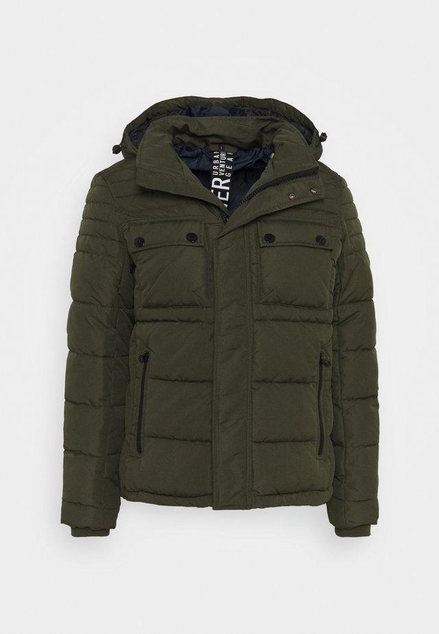 LANGARM - Winter jacket - olive