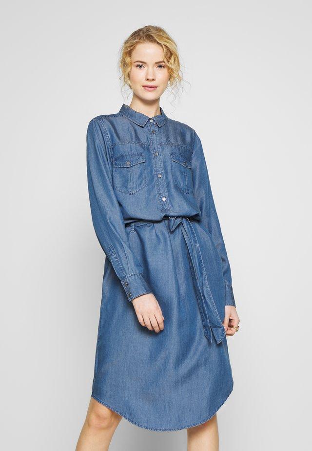 LIV - Skjortklänning - medium blue