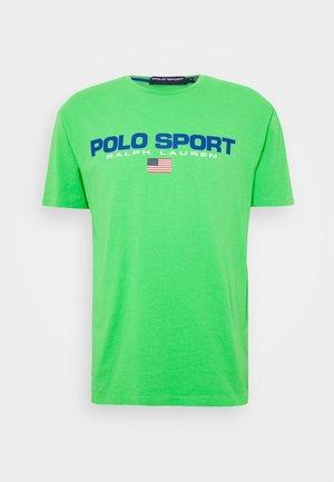 T-shirt imprimé - neon green