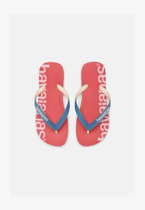 LOGOMANIA HIGHTECH UNISEX - Flip Flops - pink porcelain