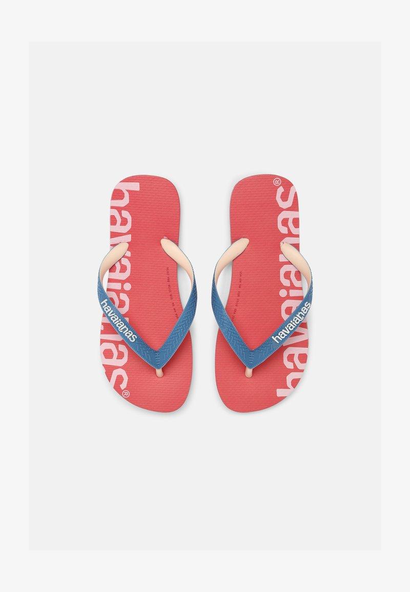 Havaianas - LOGOMANIA HIGHTECH UNISEX - Flip Flops - pink porcelain