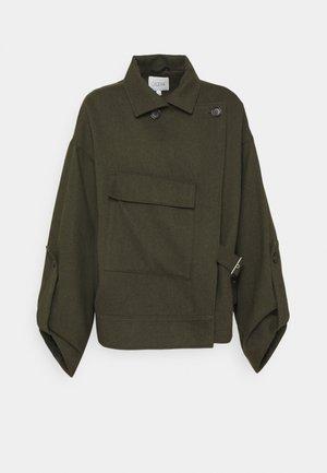 JAQUELINE - Summer jacket - dark green