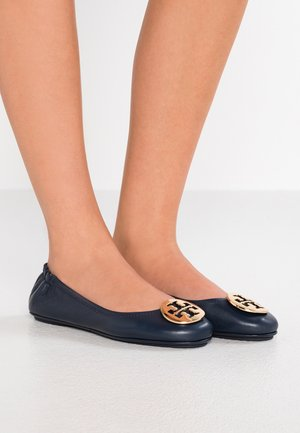 MINNIE TRAVEL BALLET  - Ballerine - ink navy/gold