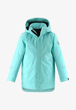 Winter coat - light turquoise