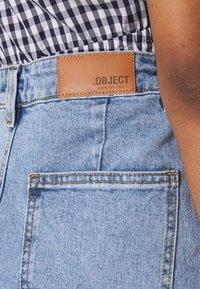 Object - OBJMARINA - Relaxed fit jeans - light blue denim - 5