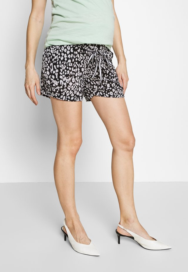 LEOPARD - Shorts - black