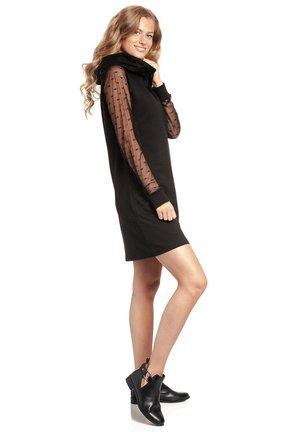 DOTS - Day dress - schwarz