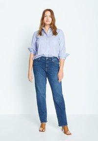 Violeta by Mango - OXFORD7 - Button-down blouse - himmelblau - 1