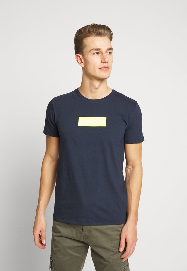 TESUPER - Print T-shirt - total navy