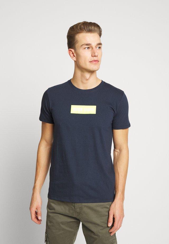 TESUPER - T-shirt imprimé - total navy