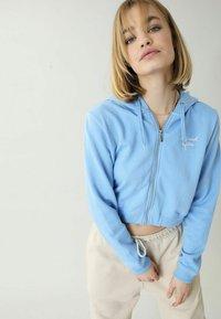 Pimkie - Zip-up sweatshirt - blau - 0