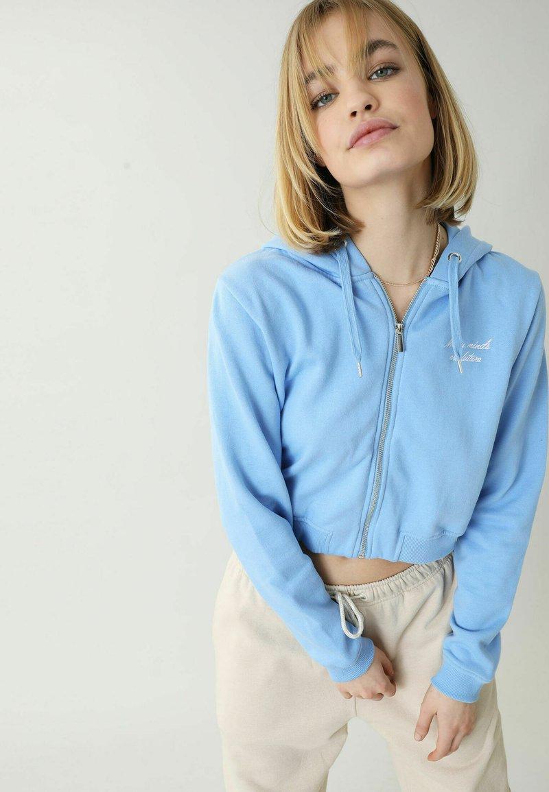 Pimkie - Zip-up sweatshirt - blau