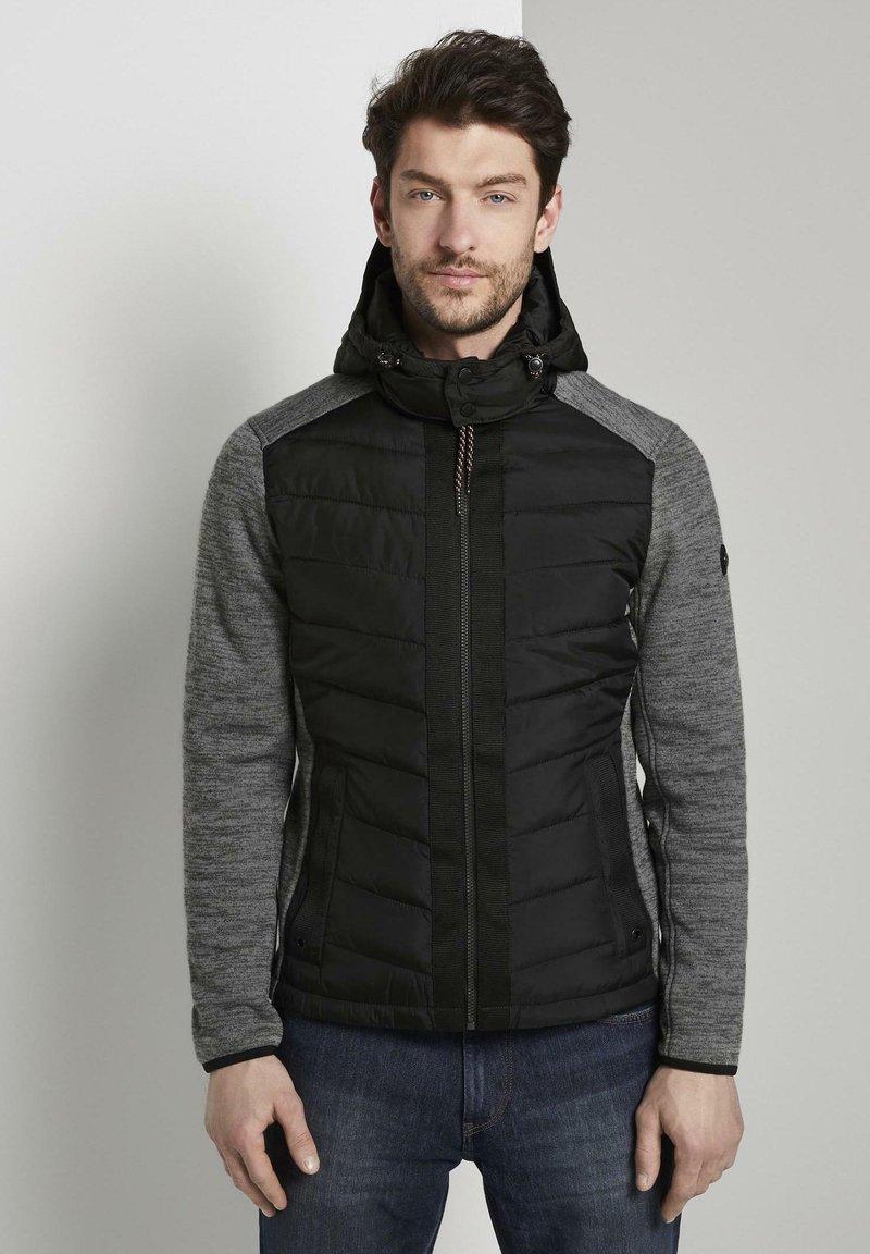 TOM TAILOR - Winter jacket - black