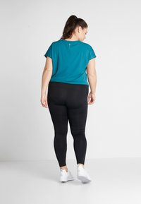 ONLY Play - ONPGILL TRAINING CURVY OPUS - Leggings - black - 2