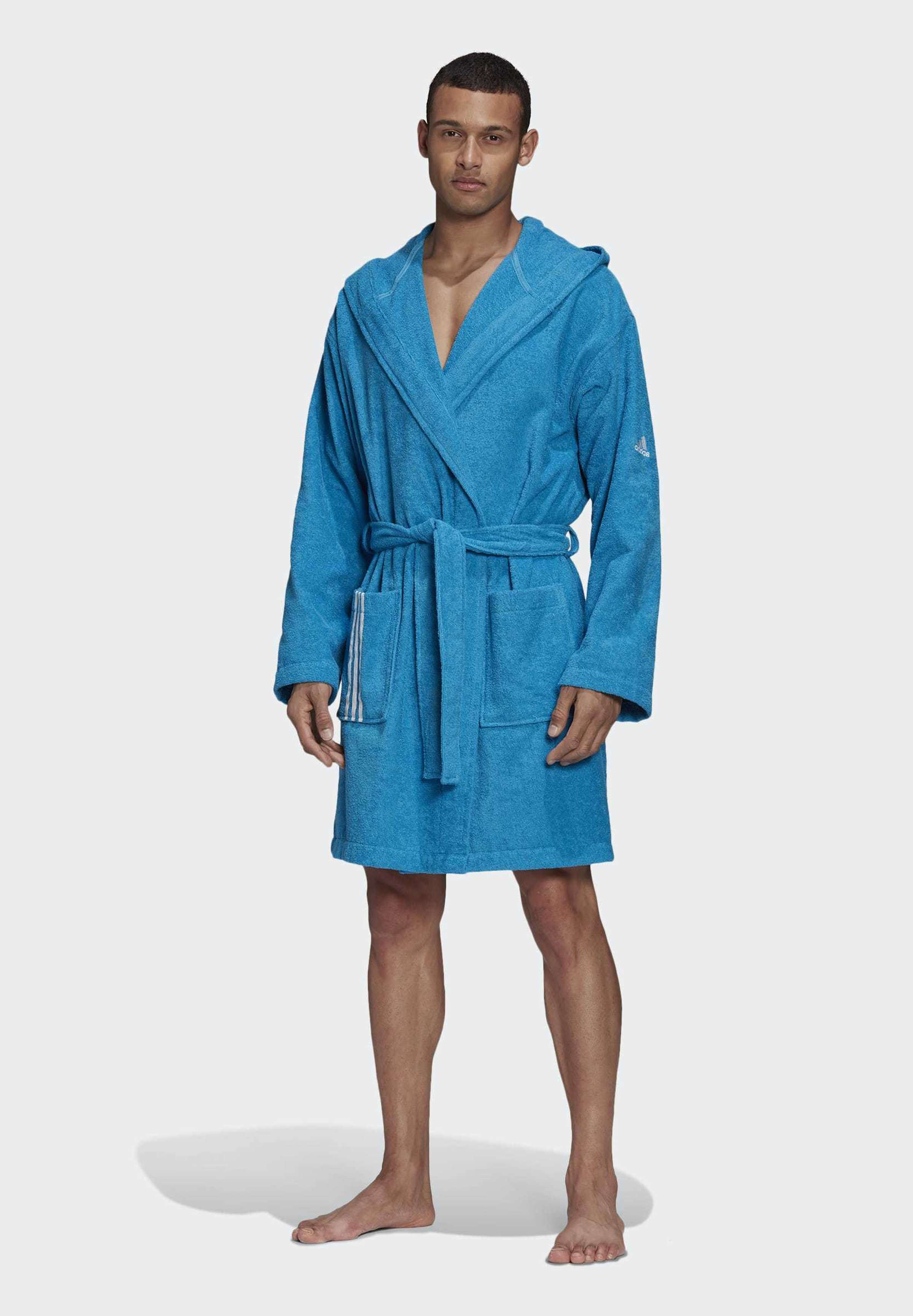 Men U PREMIUM SWIM COTTON BATHROBE - Dressing gown