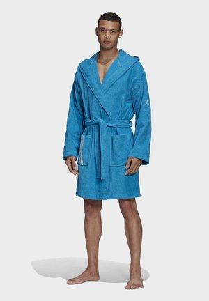 U PREMIUM SWIM COTTON BATHROBE - Dressing gown - blue