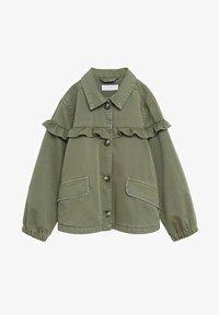 Mango - EDGE8 - Denim jacket - khaki - 0
