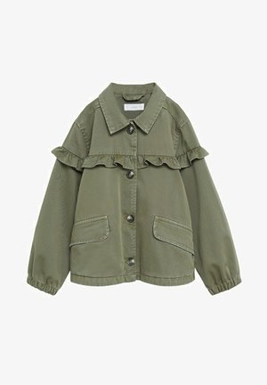 EDGE8 - Denim jacket - khaki