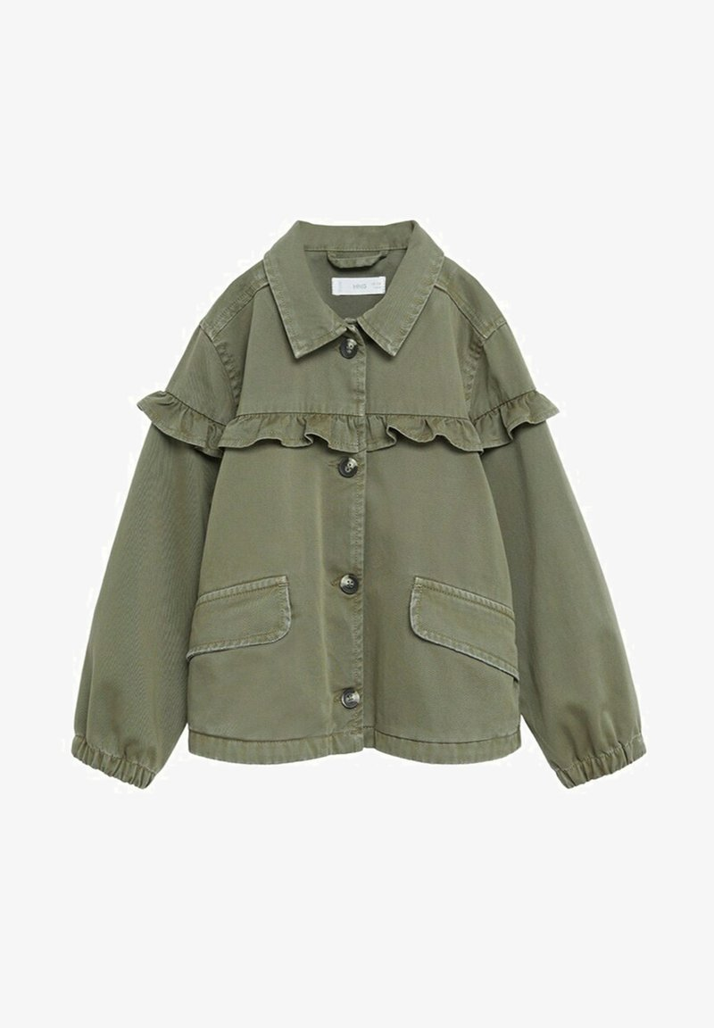 Mango - EDGE8 - Denim jacket - khaki