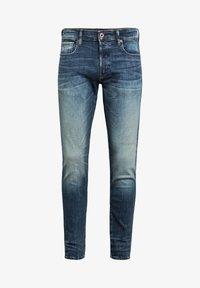 G-Star - 3301 SLIM - Slim fit jeans - antic faded baum blue - 4