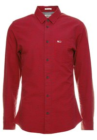 Tommy Jeans - GINGHAM SHIRT - Chemise - red - 0