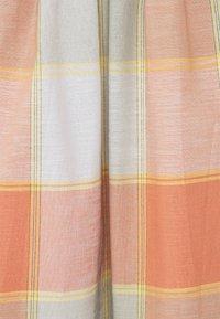 Thought - ALEXA FULL CHECK SKIRT - A-line skirt - clementine orange - 2