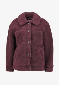 Topshop - READING - Winter jacket - burgundy - 4