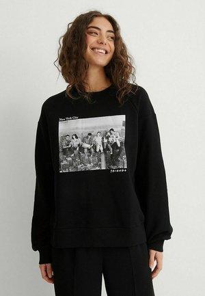 BALLOON - Sweatshirt - black new york