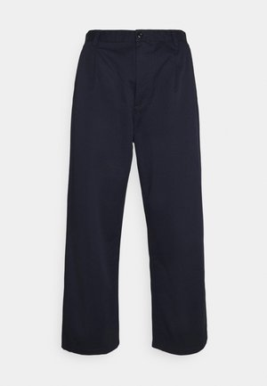 ALDER PANT LENEXA - Trousers - dark navy stone washed