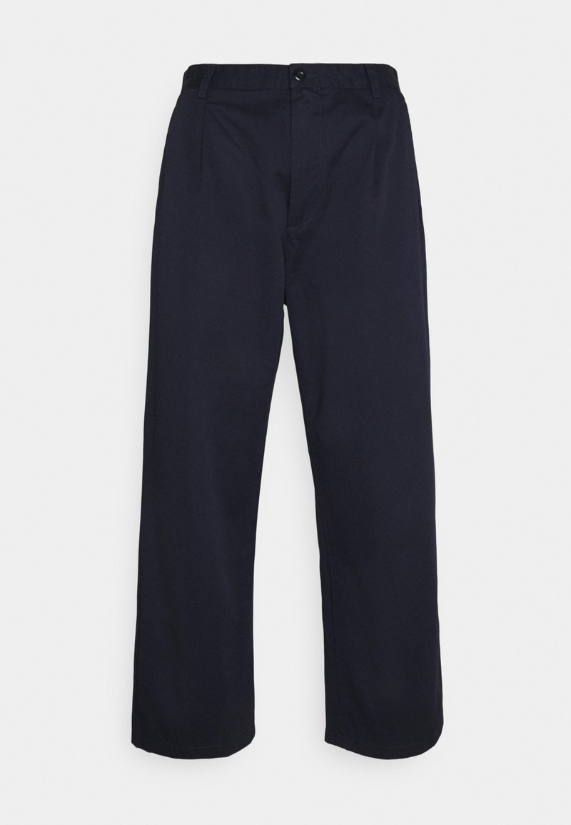 Carhartt WIP - ALDER PANT LENEXA - Trousers - dark navy stone washed