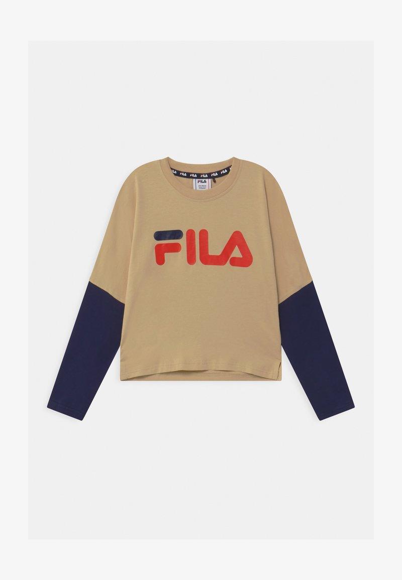 Fila - BEA  - Top sdlouhým rukávem - irish cream/black iris