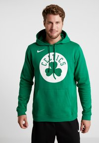 Nike Performance - NBA BOSTON CELTICS LOGO HOODIE - Jersey con capucha - clover - 0