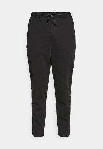 SLHSLIMTAPE JIM STRING FLEX - Trousers - black