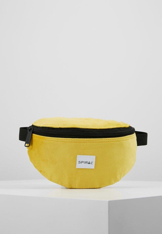 PLATINUM BUM BAG - Marsupio - mustard