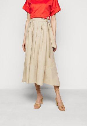 OBLARE - Plisovaná sukně - ton