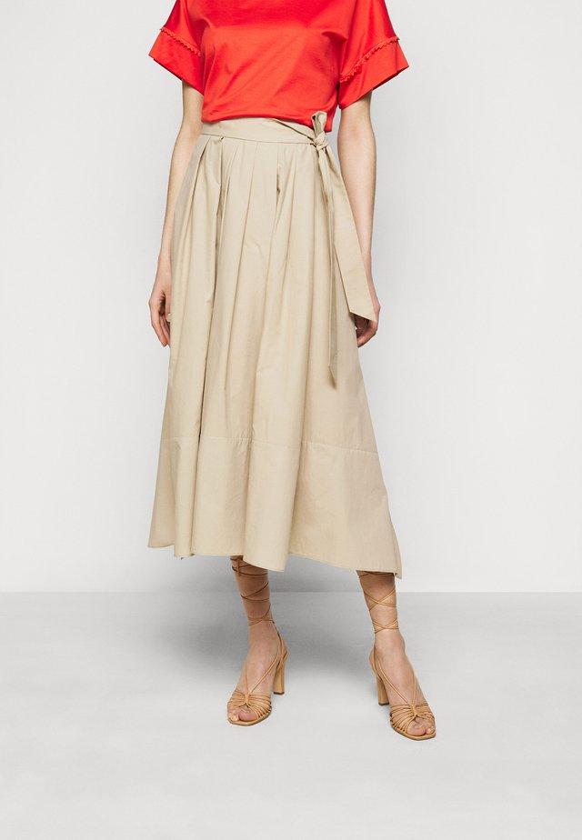 OBLARE - Falda plisada - ton