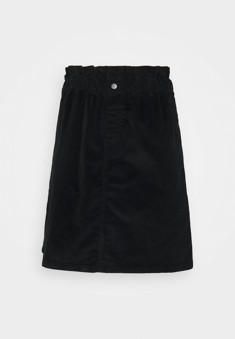 Noisy May Tall - NMJUDO PAPERBAG SKIRT - Miniskjørt - black