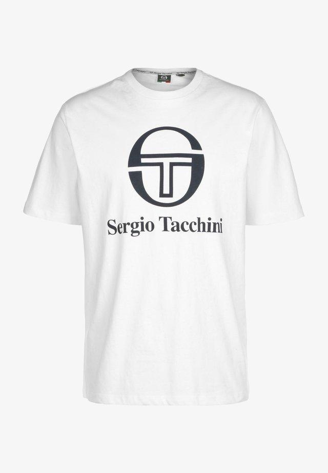 T-shirt imprimé - white/navy