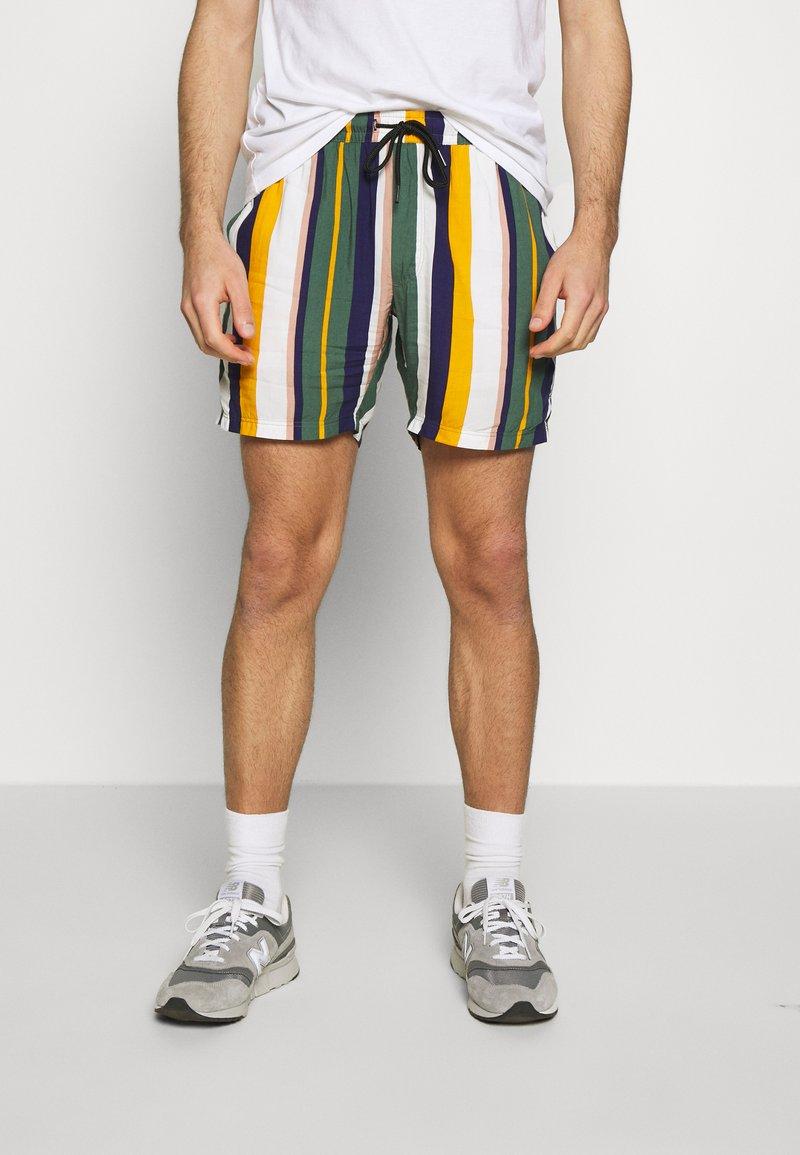 Redefined Rebel - RICK - Shortsit - duck green stripe