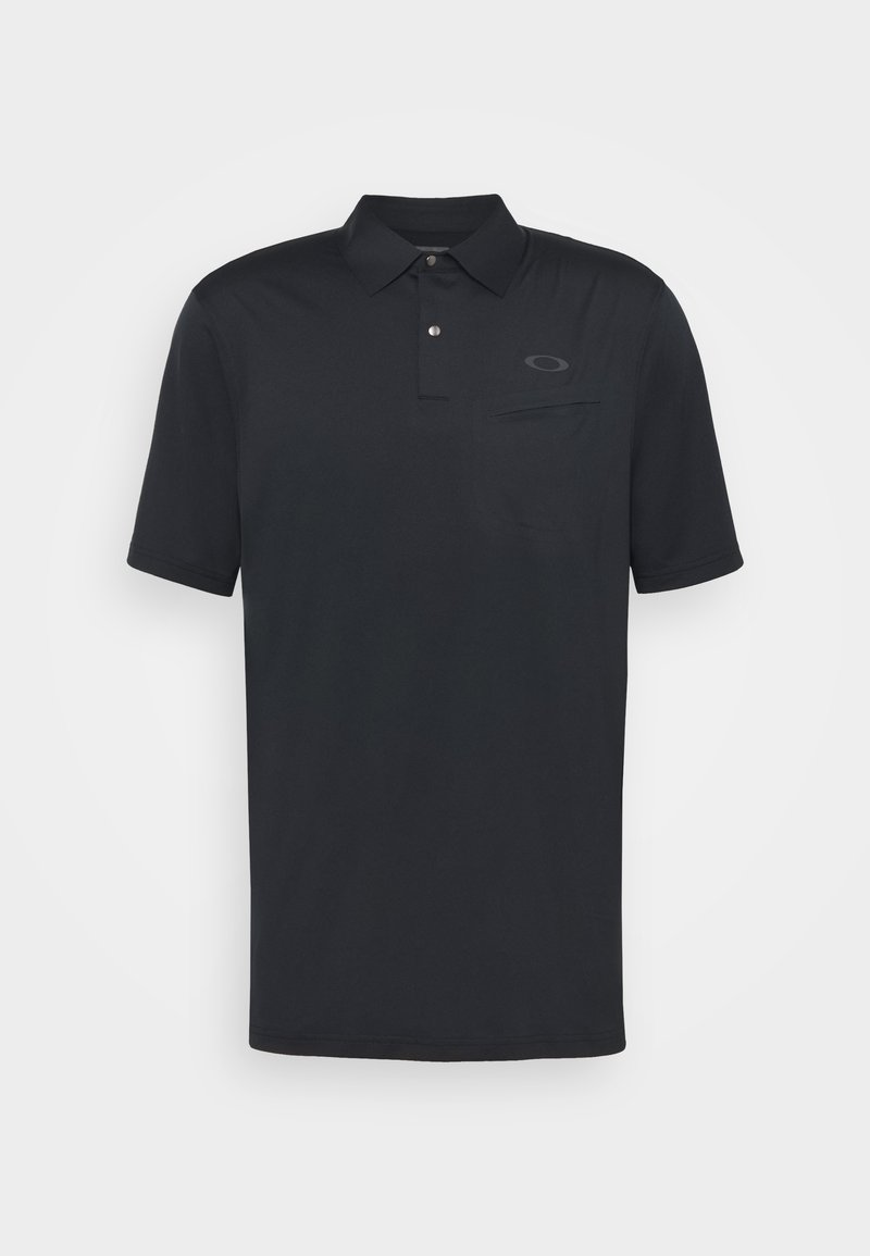 Oakley - FORGED PROTECT - Polo shirt - blackout