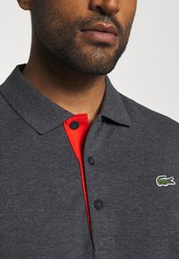 Lacoste Sport - TAPING - Polo shirt - pitch chine/flour/gladiolus - 5