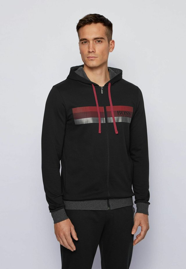 AUTHENTIC  - Zip-up hoodie - black