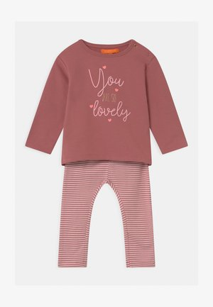SET - Sweatshirt - pink/light pink