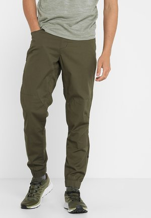 NOTION PANTS - Tygbyxor - sergeant