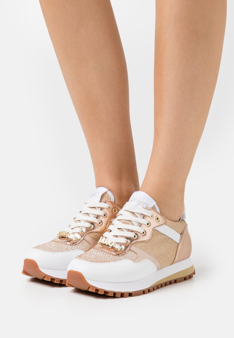 Liu Jo Jeans - Trainers - white/gold