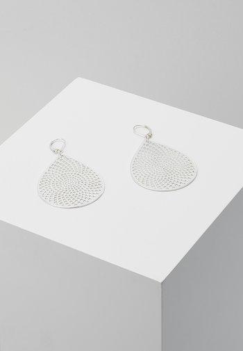 JACQUELINE BIG PENDANT EAR - Earrings - plain